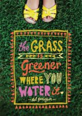 grass greener